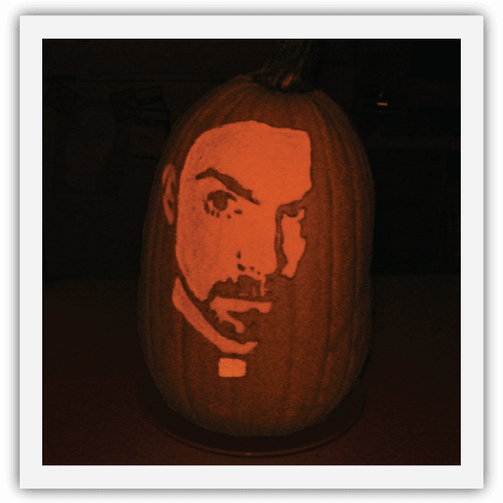 Portrait Pumpkin